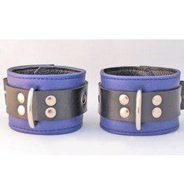 Jaguar Cuffs Purple / Black Ankle