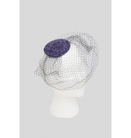 Latex Snakeskin Fascinator