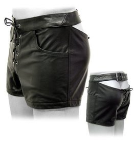 Back Buckle Strap Shorts