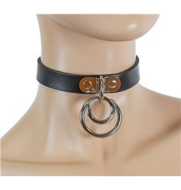 Loop and Double Ring Collar
