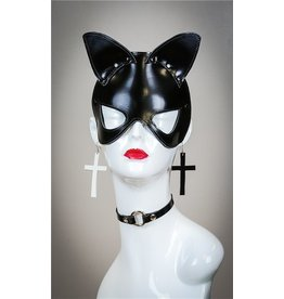 The Leather Cat Mask