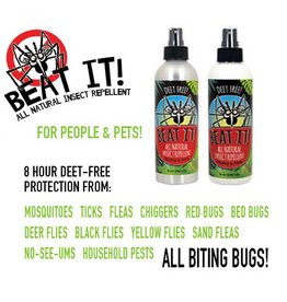 Beat It! Natural Bug Repellent