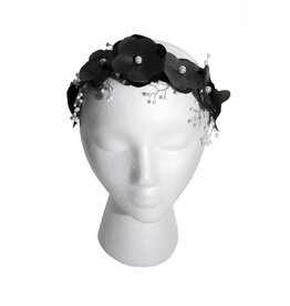 Latex Flower Crown w/ Beading