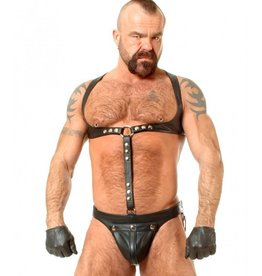 Leather Harness & Jock W/C-Ring