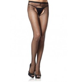 Crotchless Industrial Net Panty