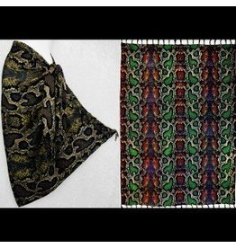 Snake Skin Print  Sarong