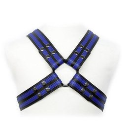 2-Stripe Leather Harness