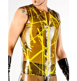 Latex Splatter Vest w/ Zipper