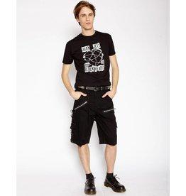 Punk Shorts w/ Bondage Straps