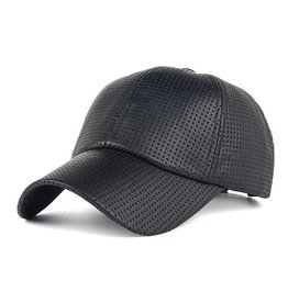 Perforated PU Baseball Cap