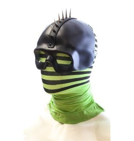 Pin Spike Hawk Leather Mask