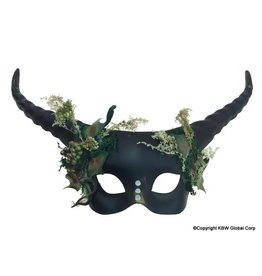 Mystical Dark Faun Mask