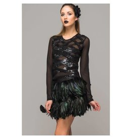 Full Bloom Feather Skirt