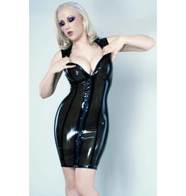 Chaos Latex Collar Dress