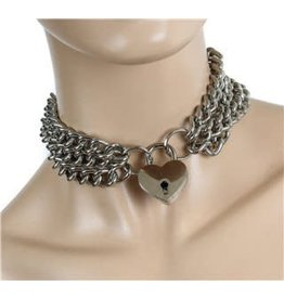 Triple Chain Lock Collar