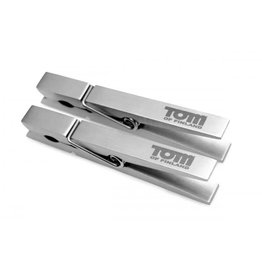 Tom of Finland Bros Pin Stainless Steel Clothespin Nipple Clamps