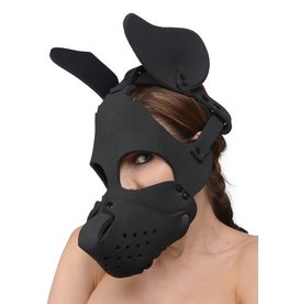 Neoprene Dog Hood w/ Removable Muzzle