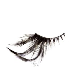 Glam Lashes W/ Feathers