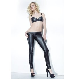 Wetlook Leggings Black Large