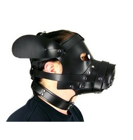 Puppy Dog Leather Hood