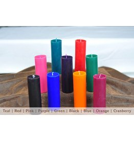 Unscent Play Temp Pillar Candle
