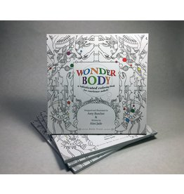 Wonder Body A Sophisticated Coloring Book for Curoious Adults