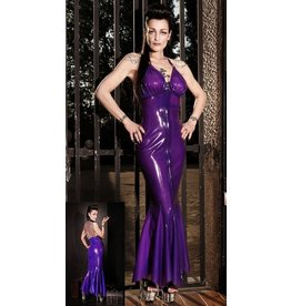 DeMask Louva TiTi Parisian Latex Evening Gown