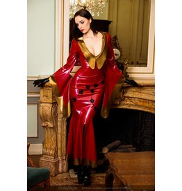 DeMask Latex Kimono Dress