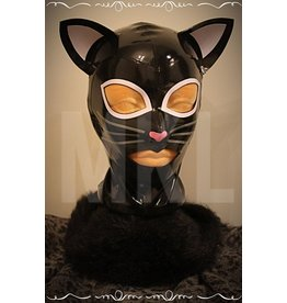 Miss Kinky Latex Naughty Kitty Hood