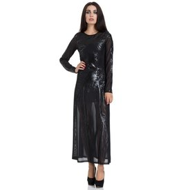 Black Hearted Veins Maxi