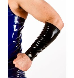 Short Latex Gauntlets