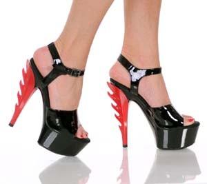 "The Highest Heel Ignite 6"" Strappy Heel"