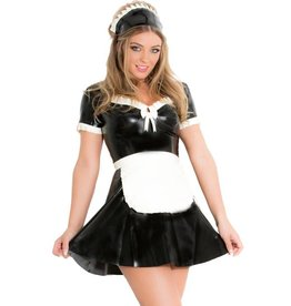 Latex Maid's Dress