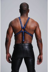 Dual Leather Y Harness