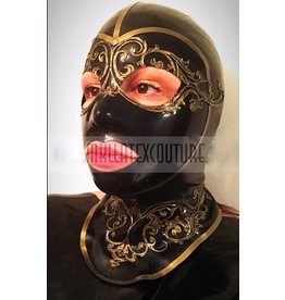 Miss Kinky Latex Masquerade Hood