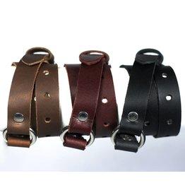 Leather Bondage Bracelet
