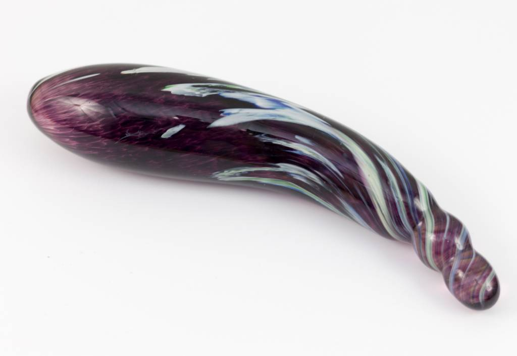 Curved Standard Glass Dildo