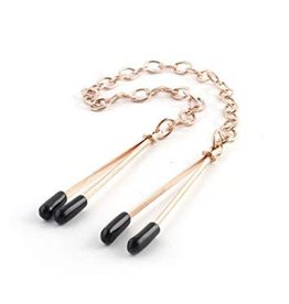 Restrained Grace RG Tweezer Clamps Rose Gold