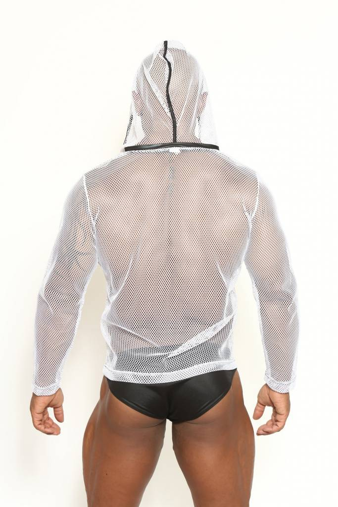 Ibiza Power Net Long Sleeve Hoodie