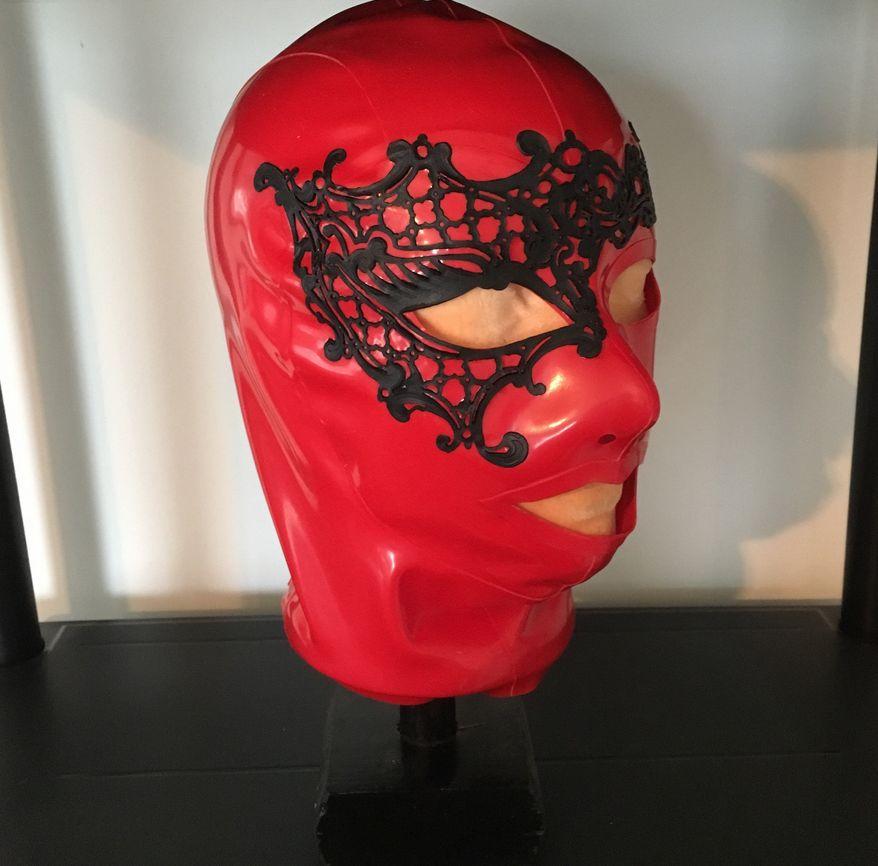 Latex Carnival Hood