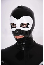 Latex Mask Hood