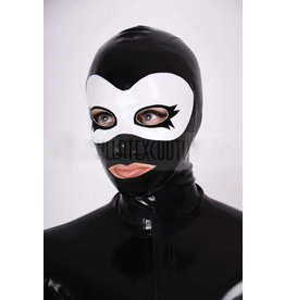 Latex Mask Hood