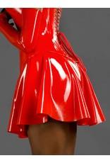 Latex Classic A-Line Skirt