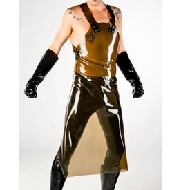 DP Latex Long Apron w/ Zipper