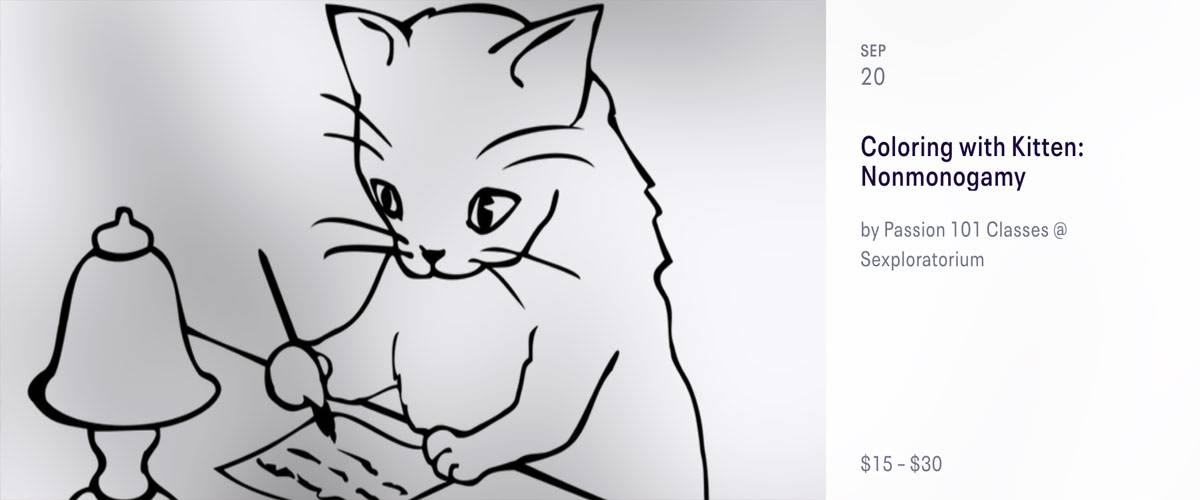 Coloring with Kitten