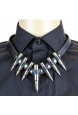 Leather Bullet Collar