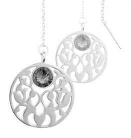 Nikki Lissoni Vintage Flower' Earring Coins