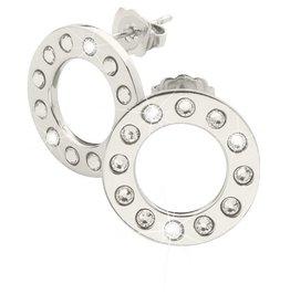 Nikki Lissoni Silver Plated Swarovski Earrings