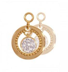 Nikki Lissoni Vintage Dangle' Gold Earring Coins