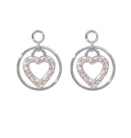 Nikki Lissoni 'Love Keeper' Silver Earring Coins